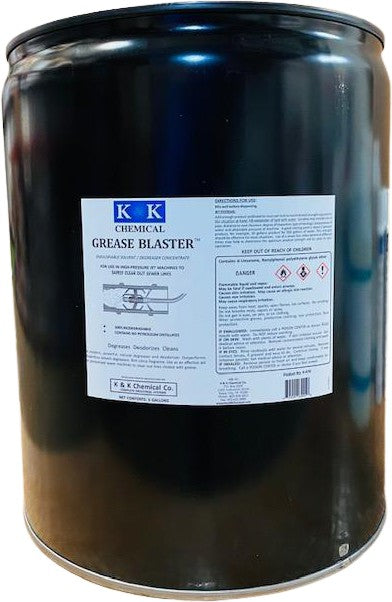 GREASE BLASTER - RTU | Concentrated Degreaser and Sewer Cleaning Solvent
