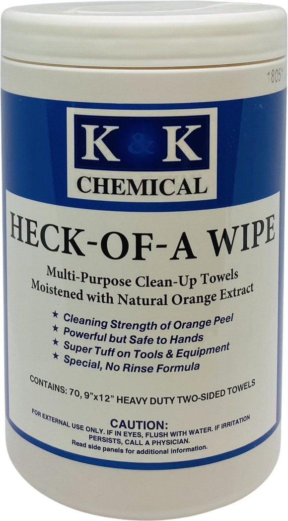 HECK-OF-A-WIPE | Multi-Purpose Clean-Up Towels