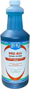 DUZ-ALL - RTM | Concentrated Foaming Acidic Bathroom Cleaner