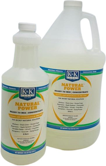 NATURAL POWER - RTM | Concentrated Total Purpose Eco-Friendly Cleaner and Deodorizer