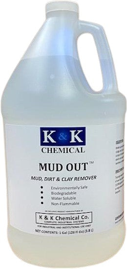 MUD OUT - RTU | Concentrated Mud, Dirt, and Clay Remover