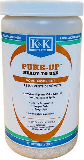 PUKE UP | Vomit and Fluid Absorbent and Deodorizer