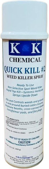 QUICK KILL 2 | Rapid Crack and Crevice Weed Killer