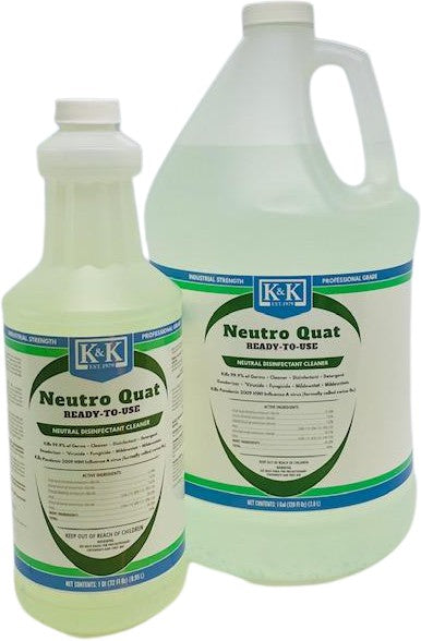 NEUTRO QUAT / Natural Green - RTU | Disinfectant Cleaner