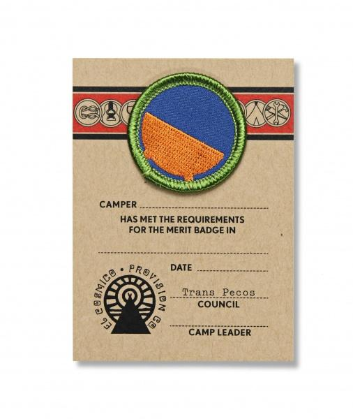 Dutch Tub Merit Badge - El Cosmico Provision Company