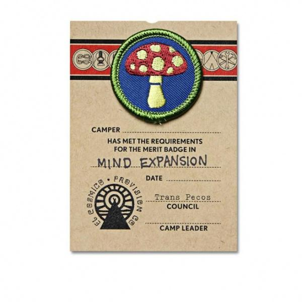 Mind Expansion Merit Badge - El Cosmico Provision Company