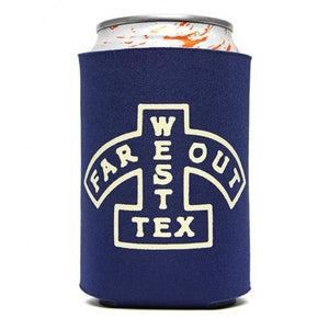 Far Out West Texas Koozie - El Cosmico Provision Company