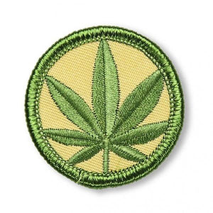 Smoking Merit Badge - El Cosmico Provision Company
