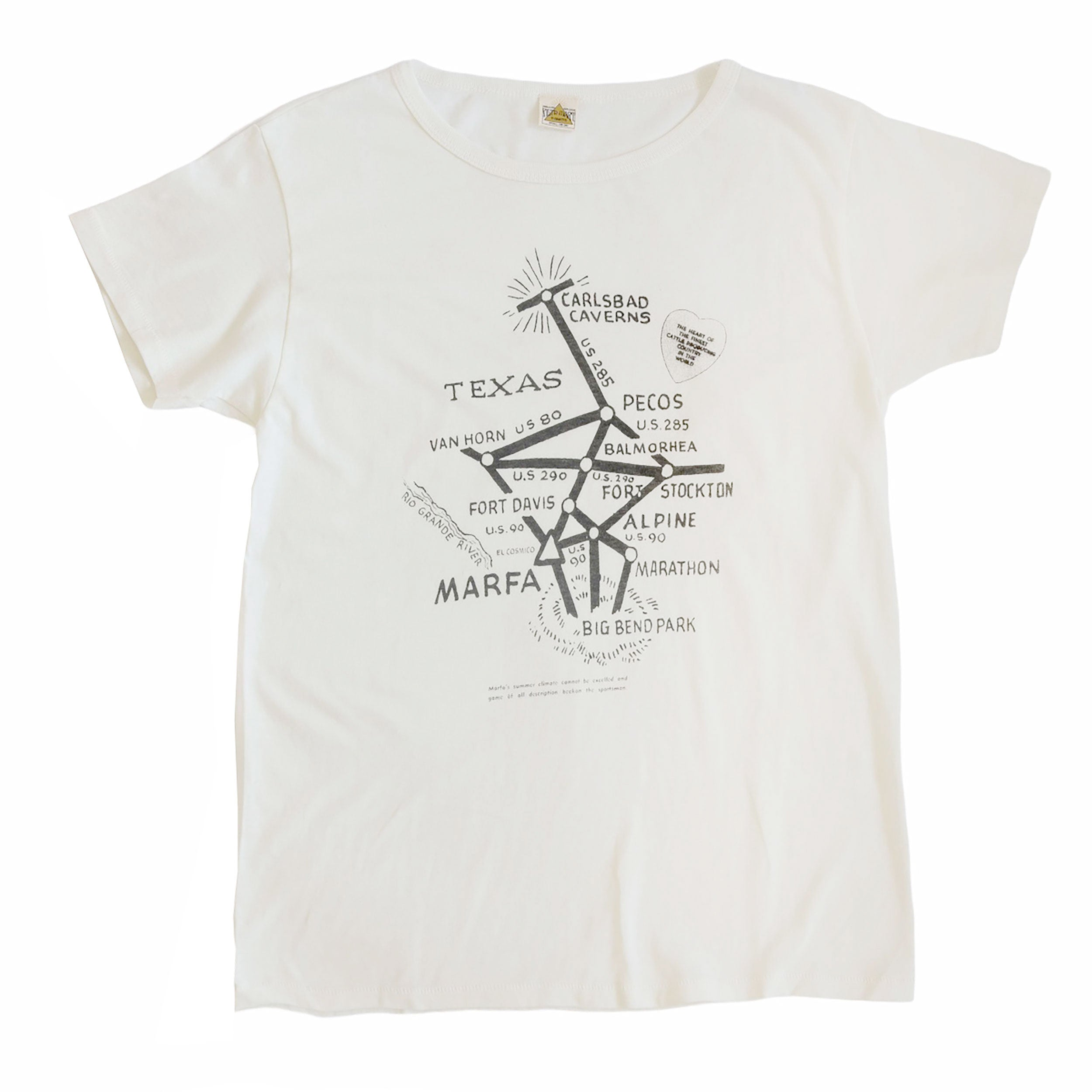 West Texas Map Tee