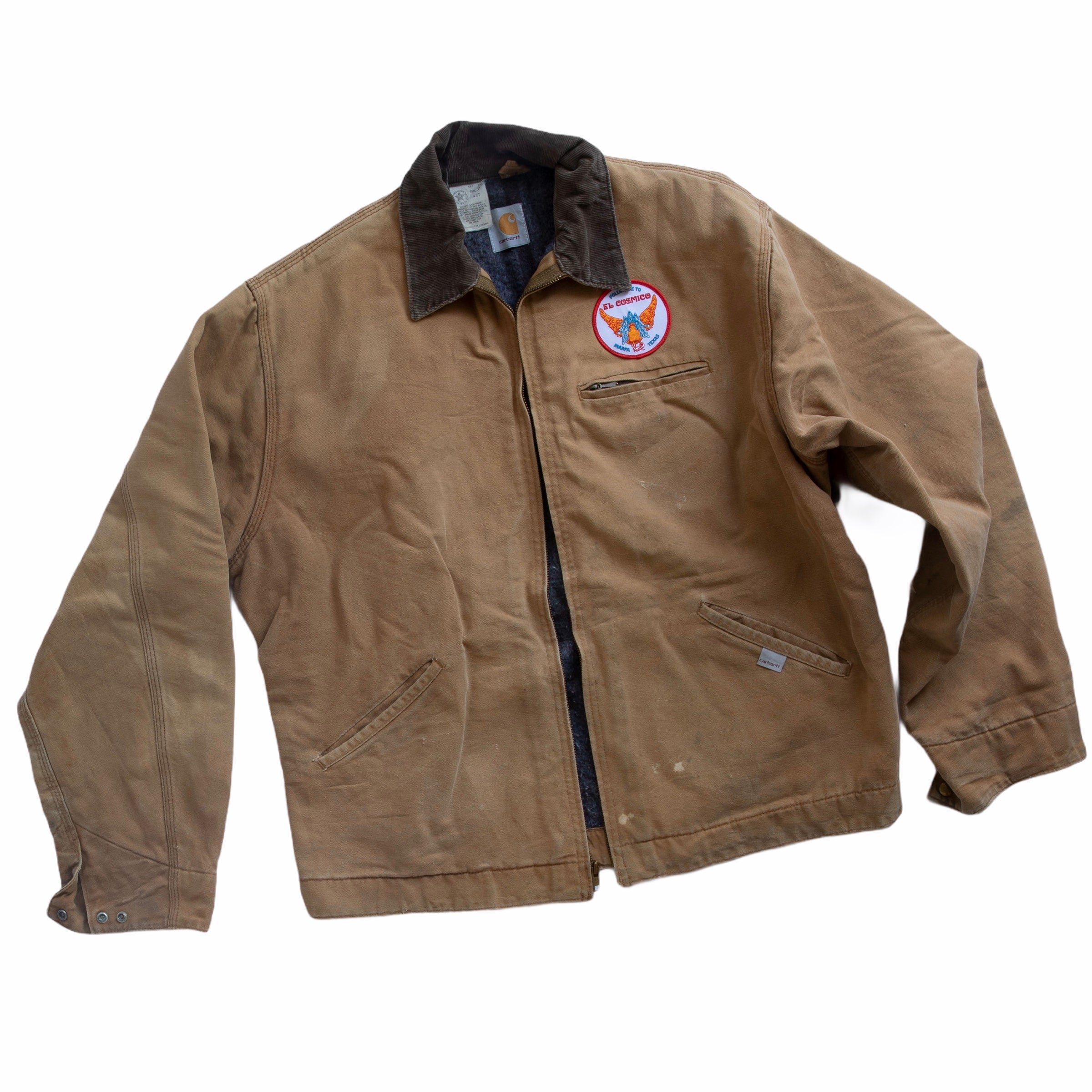 Vintage Carhartt Work Jacket with Garuda Patch