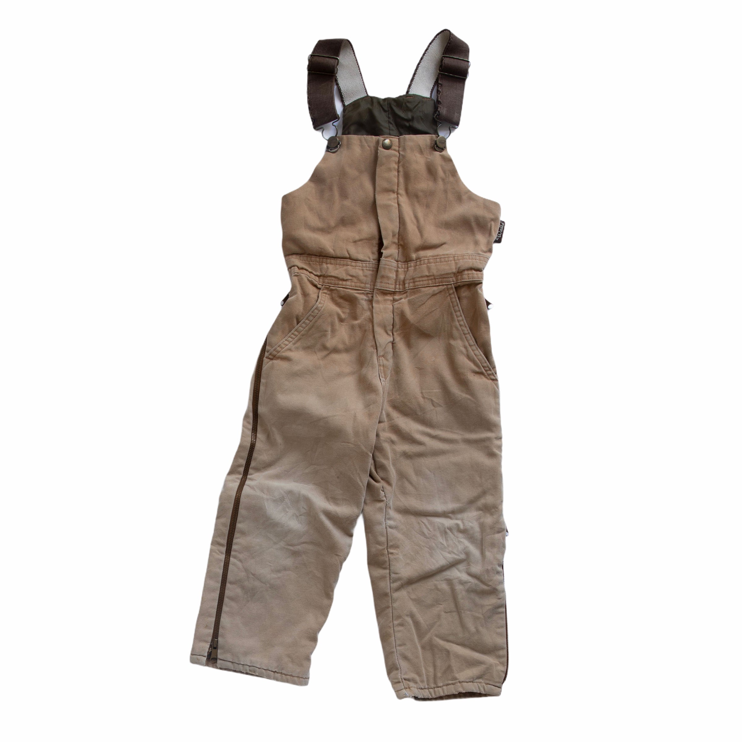 Vintage Walls Lined Child's Overalls