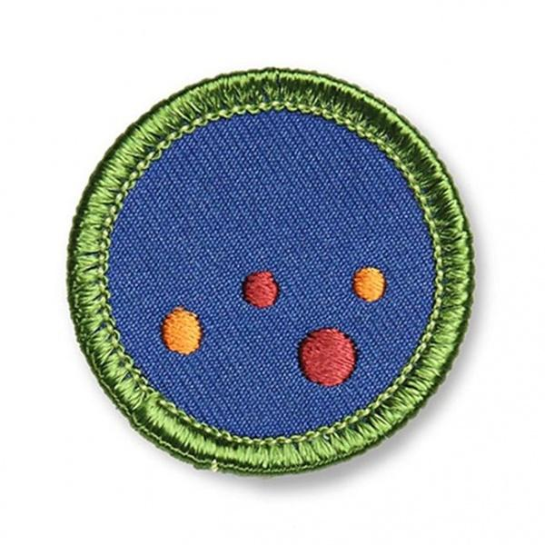 Marfa Lights Merit Badge - El Cosmico Provision Company