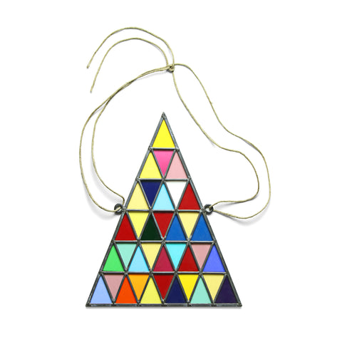 David Scheid Stained Glass Triangles