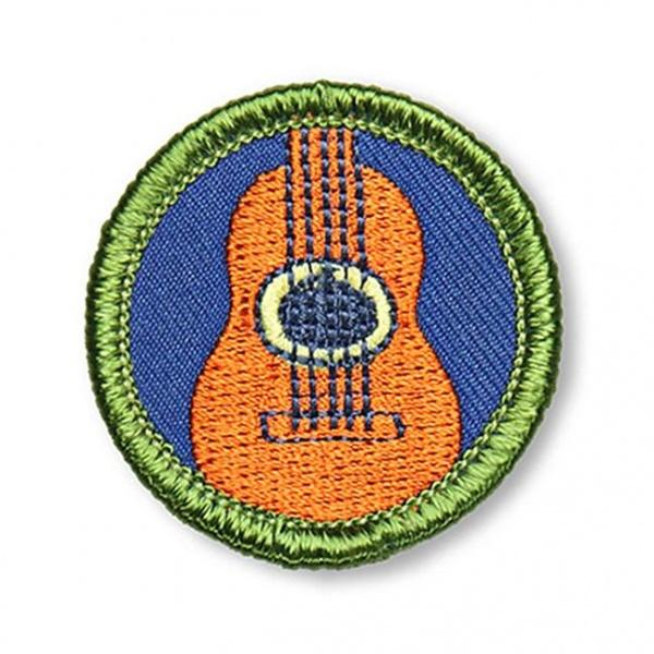 Acoustic Guitar Merit Badge