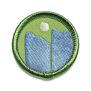 Mountains Merit Badge - El Cosmico Provision Company