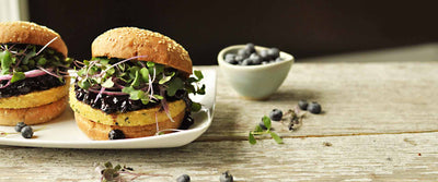 Blueberry BBQ Burger