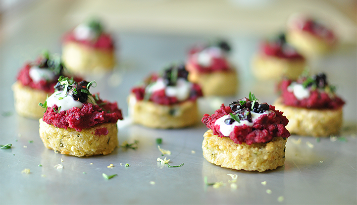 A Collection of Quick, Free-From Holiday Party Appetizers