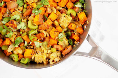 Sweet Potato Holiday Hash