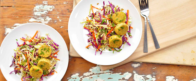 Winter Slaw with Hilary's Bites