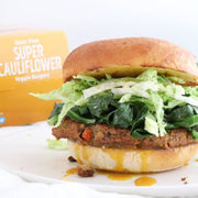 Grain-Free Super Cauliflower Veggie Burger - Get 6 boxes (24 patties)