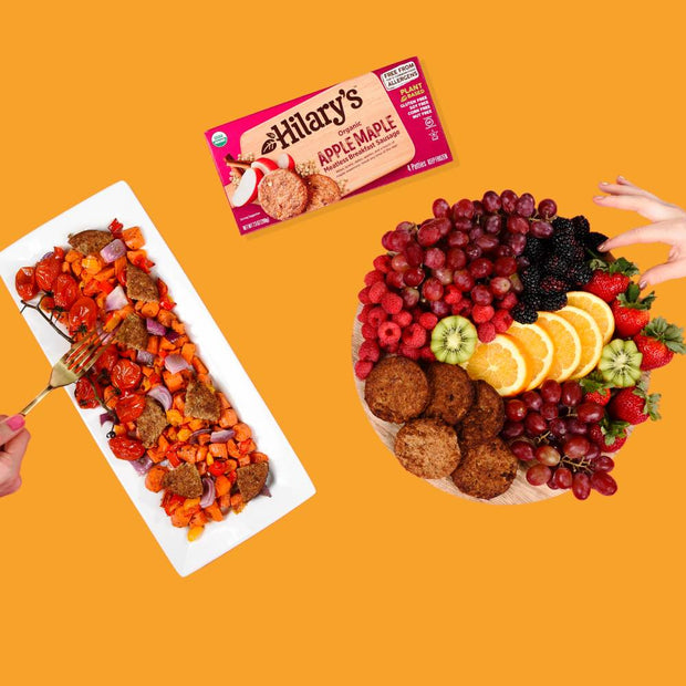 Sunshine Sampler Pack - Get 12 boxes of Apple Maple Sausage + 12 boxes of Spicy Veggie (96 patties)