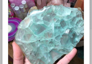 Fluorite Slab - The Whimsy Crystal Shop