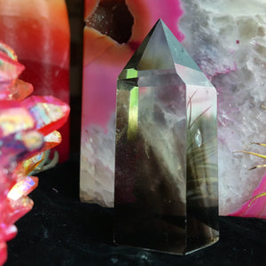 Smokey Quartz Standing Wand 2.5in tall - The Whimsy Crystal Shop