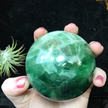 1.8lb Green Fluorte Sphere - The Whimsy Crystal Shop