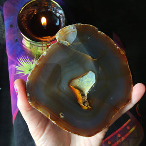 Natural Agate Geode - The Whimsy Crystal Shop