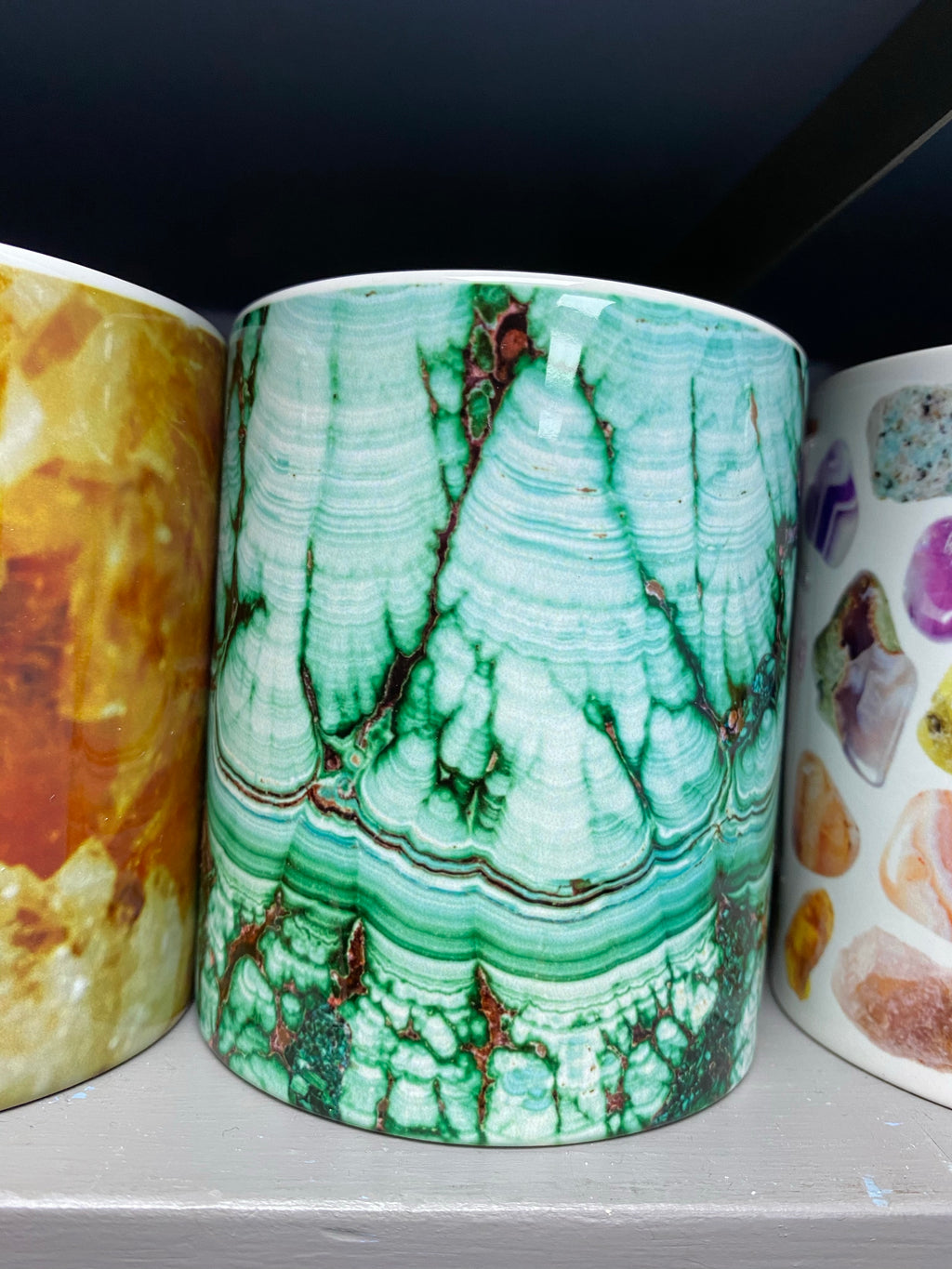 Malachite Print Mug 11oz
