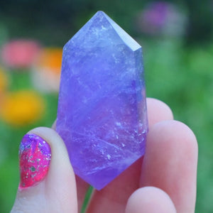 Amethyst Wand - The Whimsy Crystal Shop
