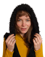 Load image into Gallery viewer, Hooded Vest with Faux Fur and Pockets