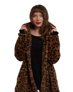 Load image into Gallery viewer, London Animal Print Coat