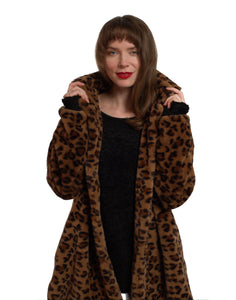 London Animal Print Coat