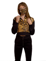 Load image into Gallery viewer, Animal Print Set with Mask