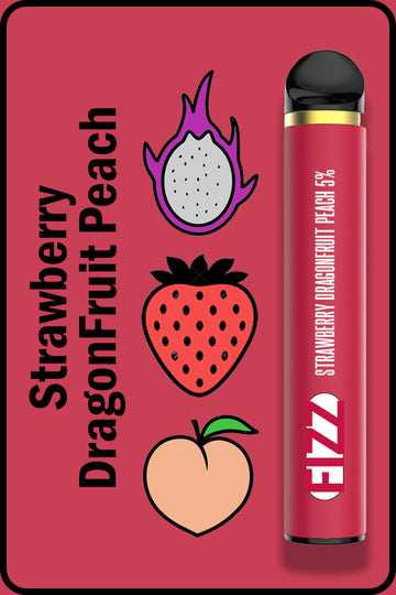 FIZZ 1600 XTRA - Strawberry Dragon Fruit Peach