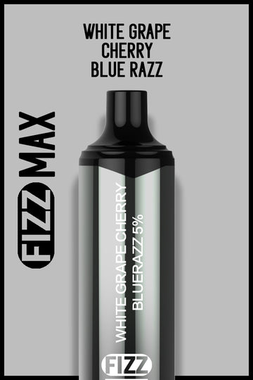 FIZZ MAX - White Grape Cherry Blue Razz