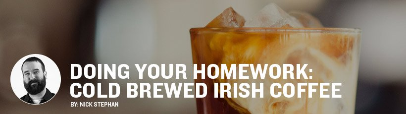 How to make Cold Brewed Irish Coffee