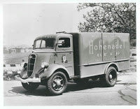 Old School Delivery Truck