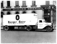 Delivery Truck with Burger Beer