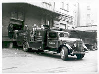 Delivery Truck being loaded