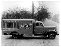 Delivery Truck with Rainier