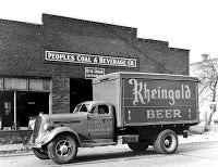 Delivery Truck with Rheingold Beer