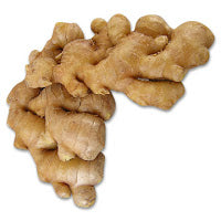 "* This is what a ""branch"" of ginger looks like, way bigger than a ""knob."""