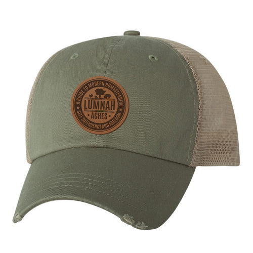 Lumnah Acres Patch Hat