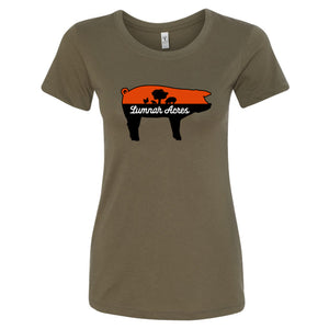 Lumnah Acres Women's Pig T-Shirt