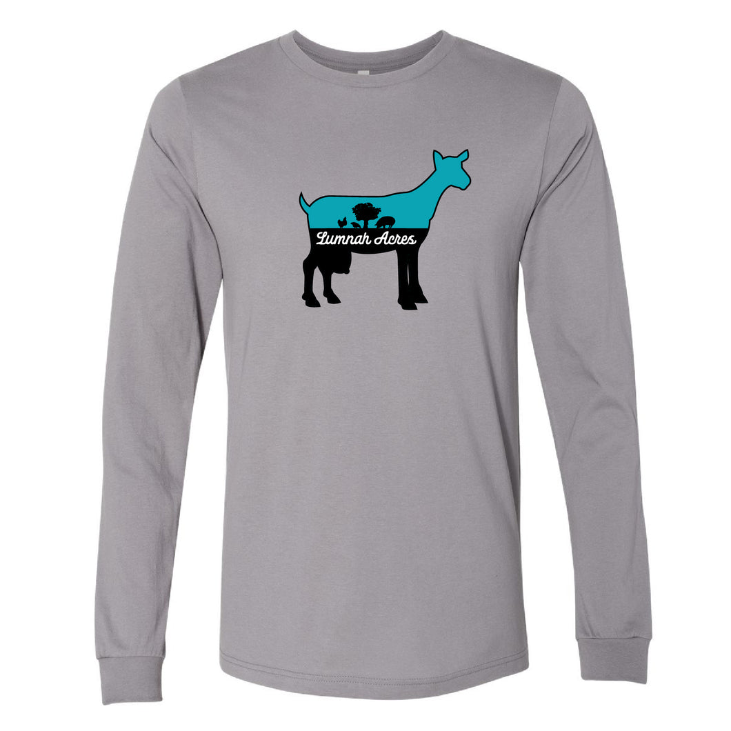 Lumnah Acres Goat Youth Long Sleeve T-Shirt