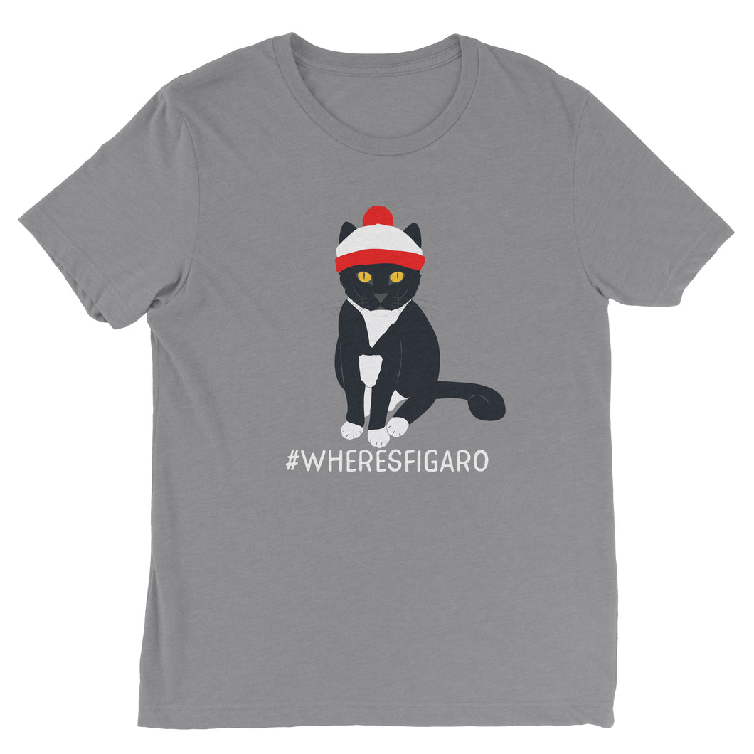 #WHERESFIGARO T-Shirt