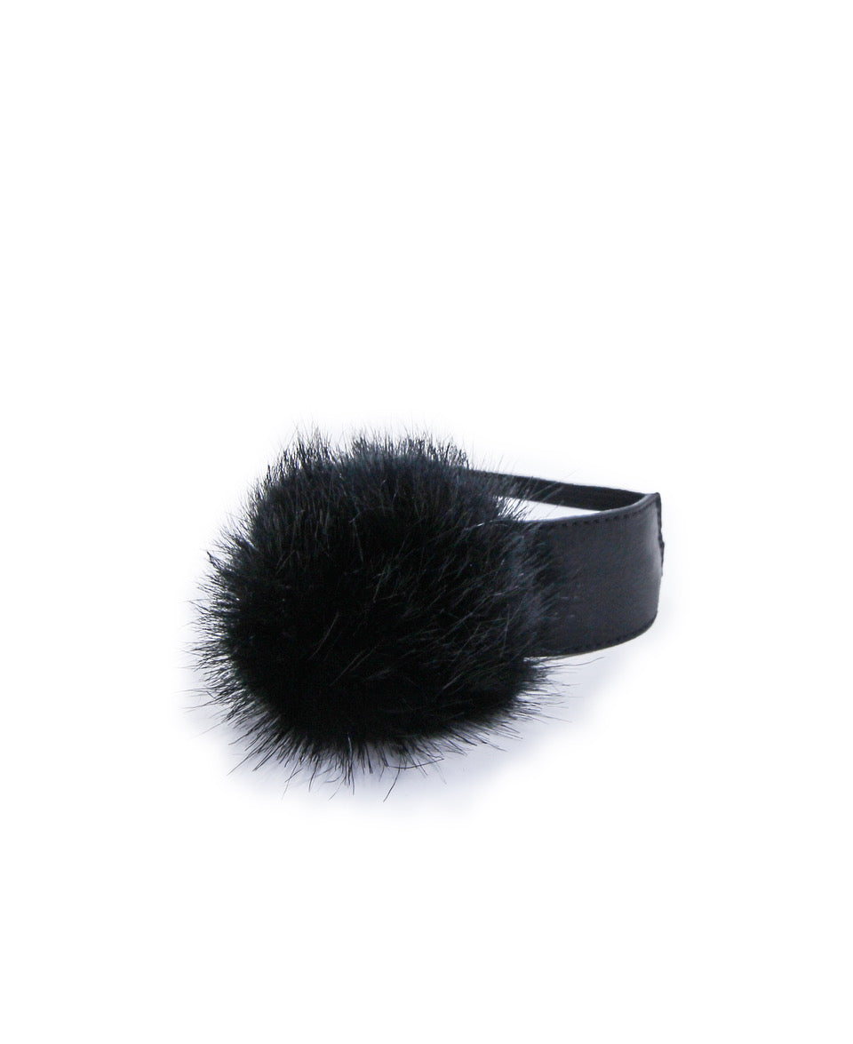 Faux Fur Pom Pom Accessory
