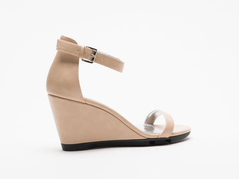 Giselle Cream Wedge